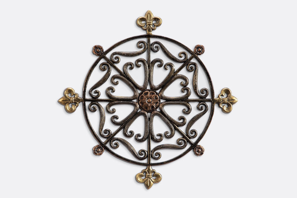 Rosette Wall Medallion