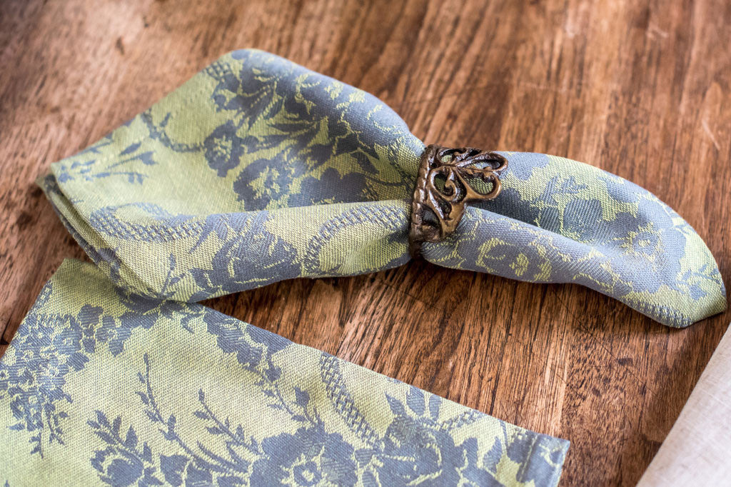 Bouquet Sage Napkins