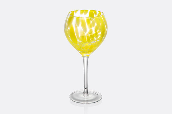 Mimosa Wine Goblet Set of 4