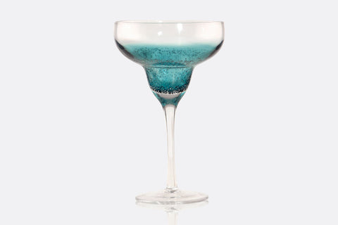Deep Sea Margarita Glass Set of 4