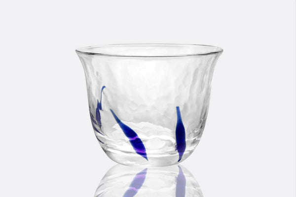 Azure Rocks Glass, Set of 6