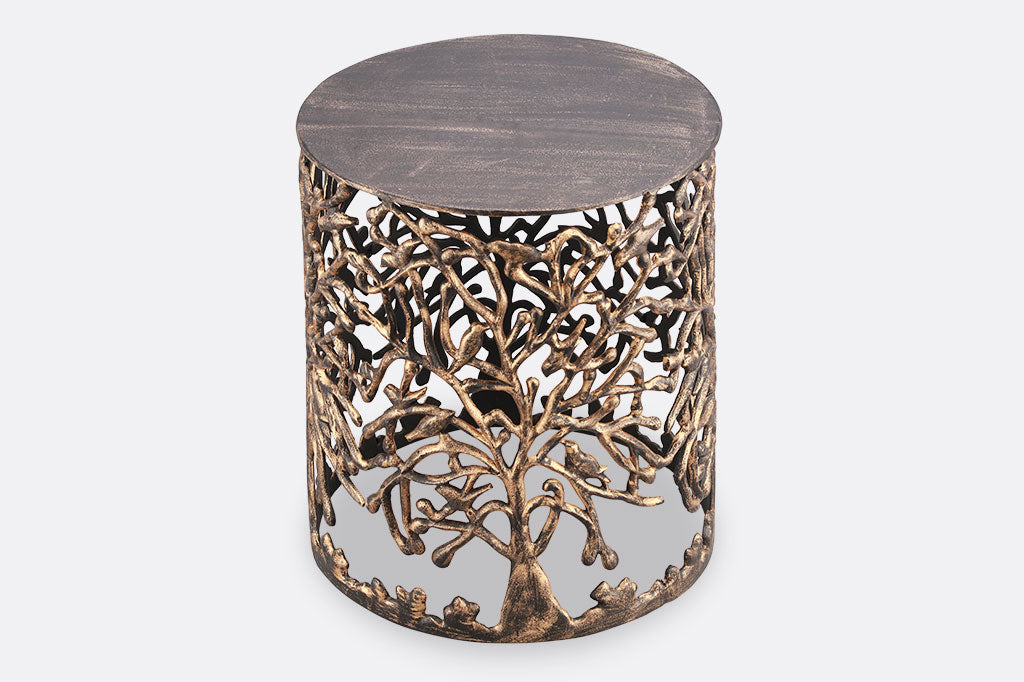 Tree of Life Garden Stool