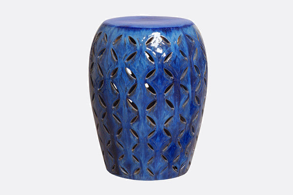 Blue Trafitto Garden Seat
