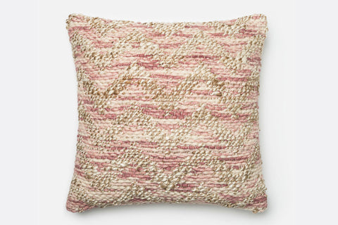 Barley and Blush Pillow