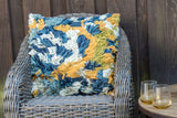 Blue Lagoon Shag Pillow