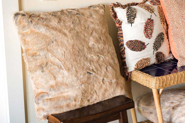 Lodge Faux Fur Pillow