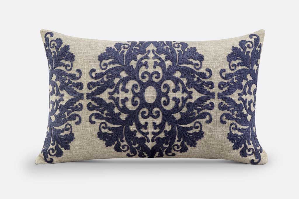 Riviera Damask Pillow