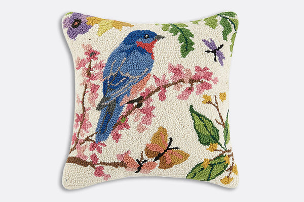 Songbird Hooked Pillow