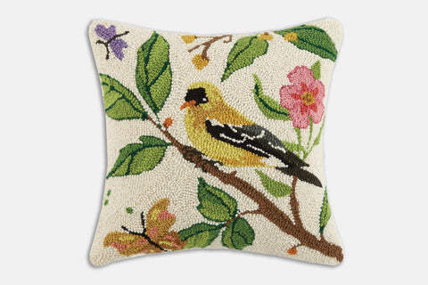 In the Garden Hooked Pillow