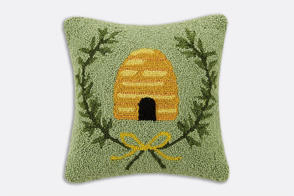 Hive Sweet Hive Hooked Pillow
