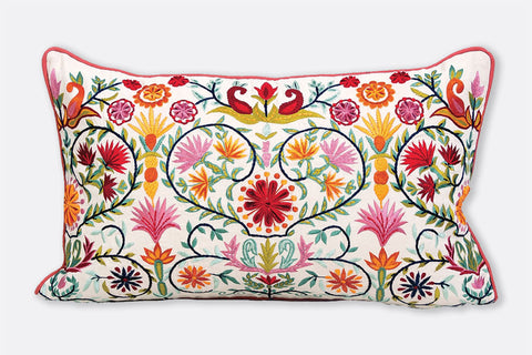 Scandi Floral PIllow