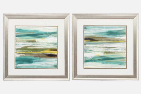 Peaceful Views Set of 2 Framed Art