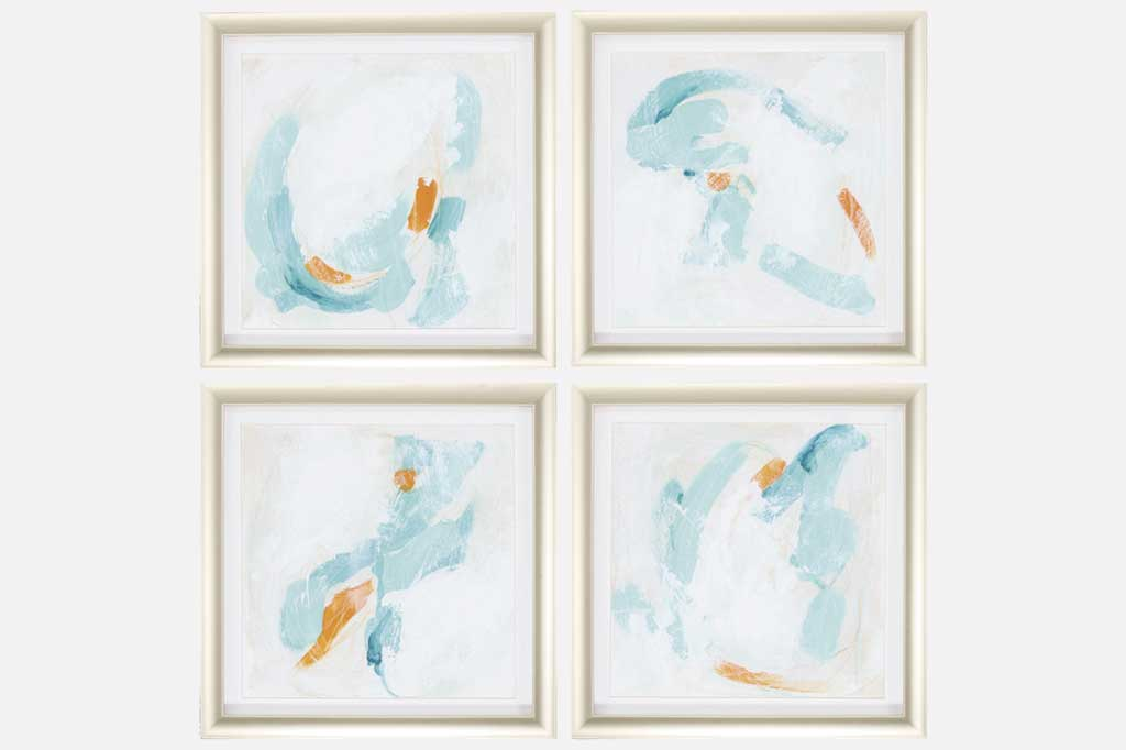 Atmosphere Set of 4 Framed Art