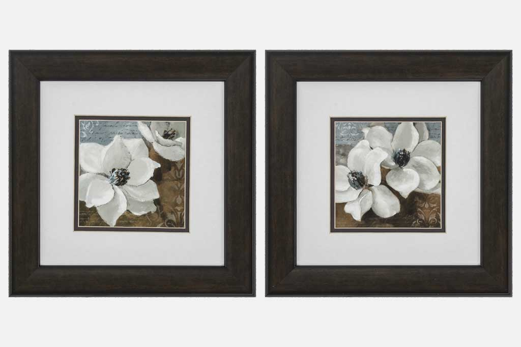 Set of 2 Magnolias Framed Art