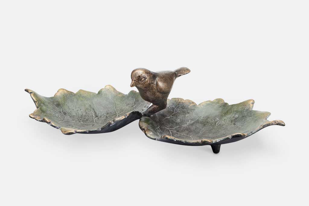 Bird and Leaves Tray