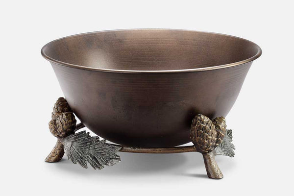 Pinecone and Leaf Beverage Tub
