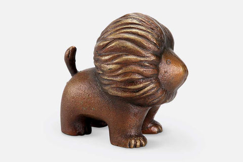 Whimsical Lion Figurine