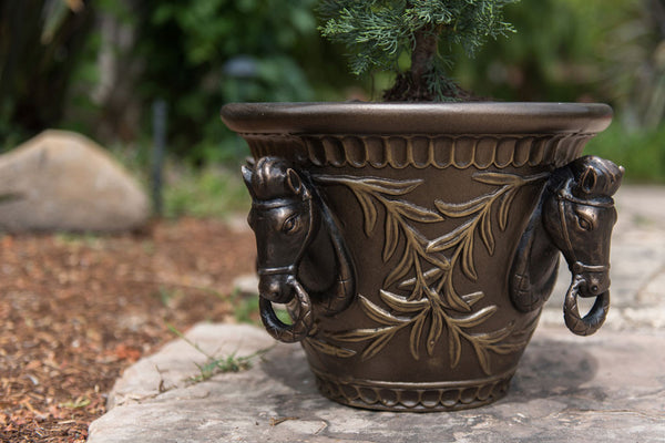 Alloro Horse Planter