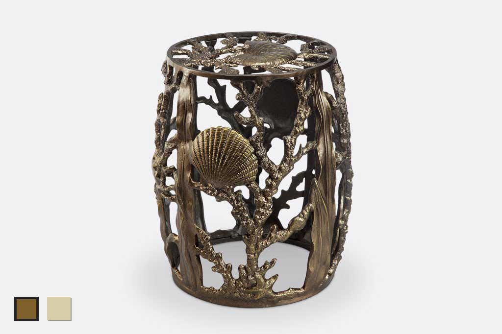 Under The Sea Garden Stool