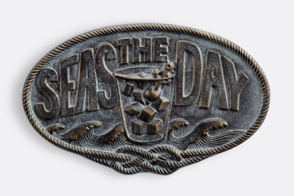 Seas The Day Plaque