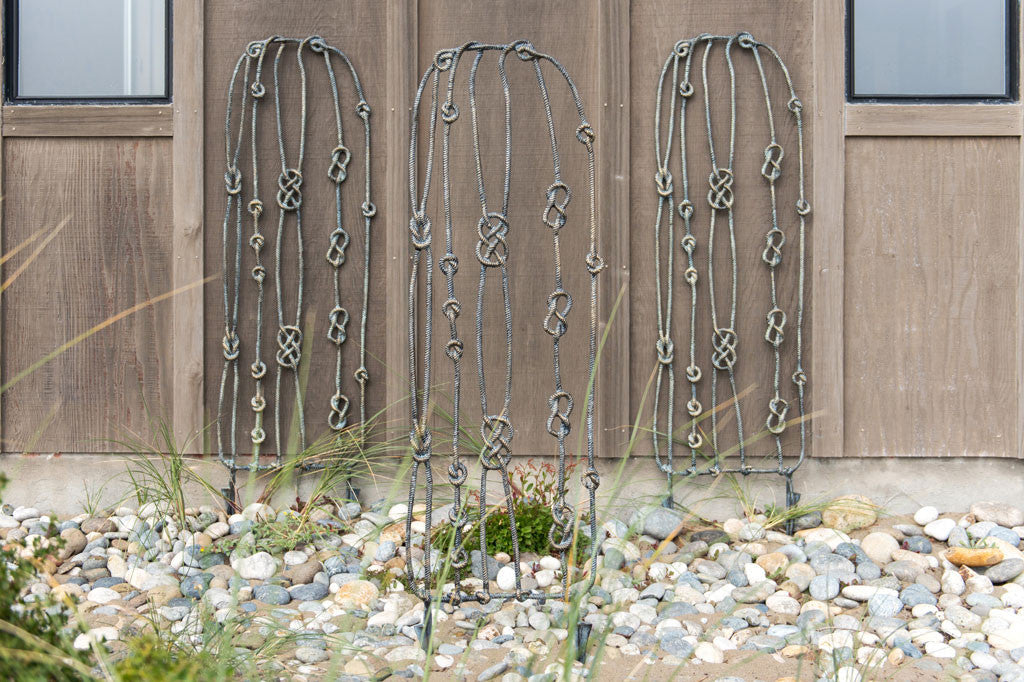 Nautical Knots Garden Trellis
