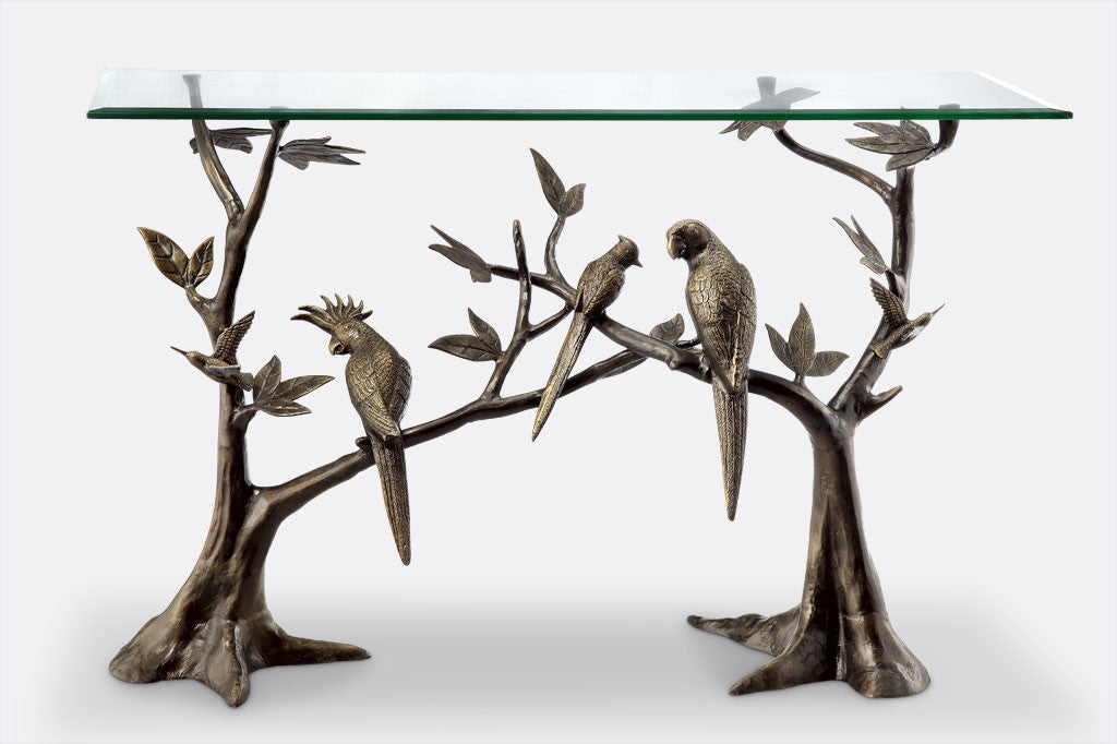 High Quality Bird Soiree Console Table