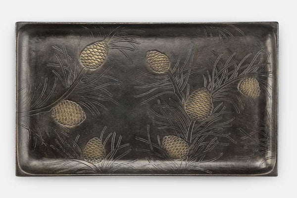 Pinecones and Needles Tray