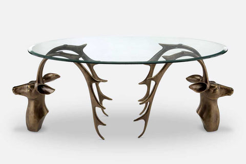 Grand Antlers Coffee Table