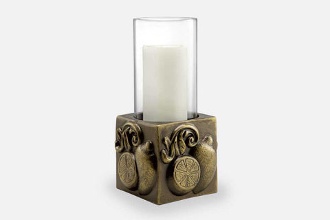 Limone Hurricane Candle Holder