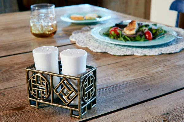 Ming Salt and Pepper Shaker Set
