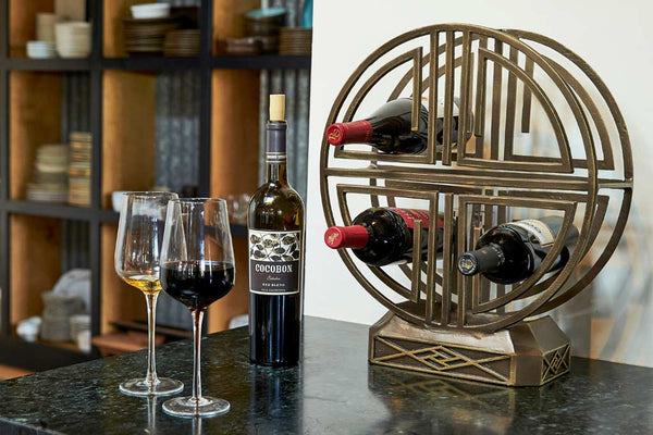Ming Wine Bottle Holder