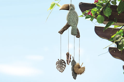 Tropical Toucan Windchime