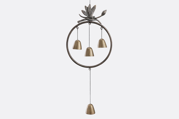 Encircled Bells with Dragonfly Windchime