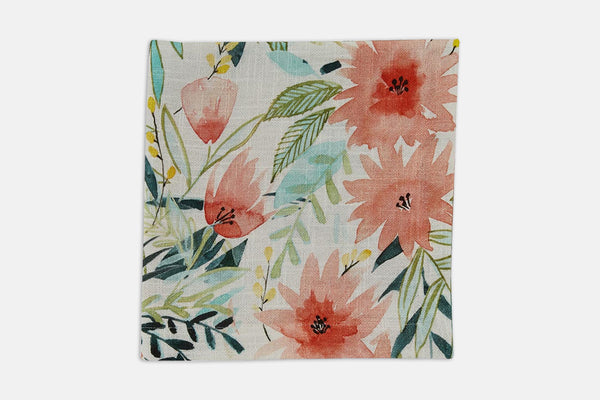 Floral Watercolor Napkins (Set of 4)