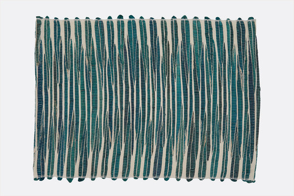 Teal Ripples Placemat (Set of 4)