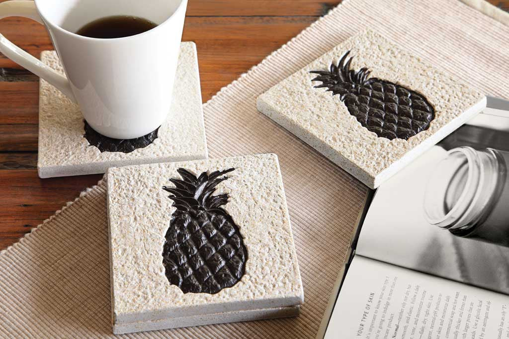 Coasters Pineapple Set of 4