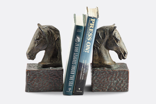 Noble Steed Bookends