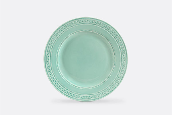 "Jade Fretwork Salad Plate, 8"" Diameter, Set of 4"