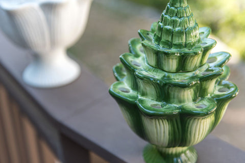 Flower Arranger Small Green Artichoke