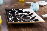 JR Ceramic Black Tray Detail 1