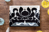 JR Ceramic Black Tray
