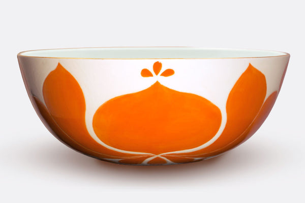 JR Ceramic Low Tangerine Bowl