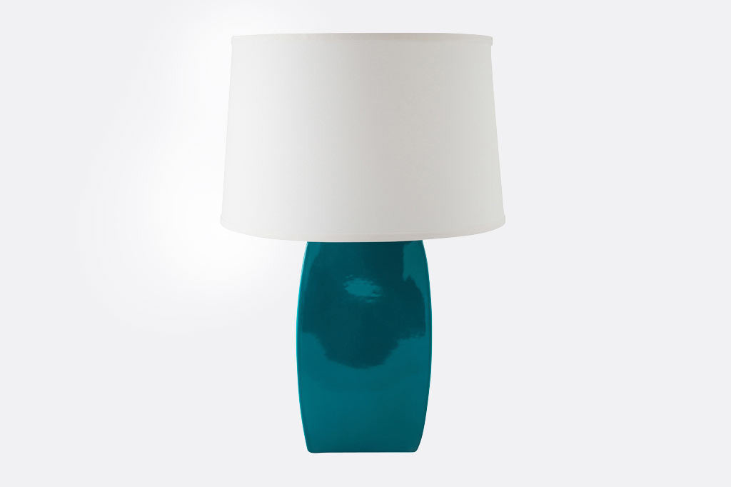 Teal Arrondi Lamp