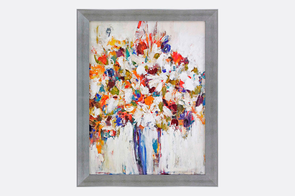 Vase of Flowers Framed Art