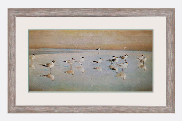 Sandpipers Framed Art
