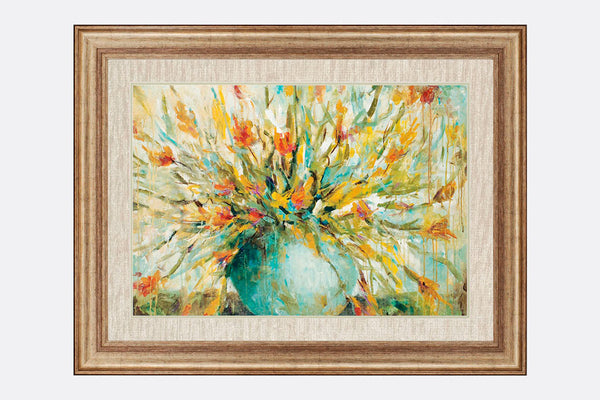 Still Life Bouquet Framed Art