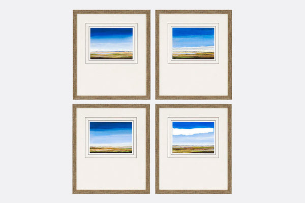 Praire Views Framed Art S/4