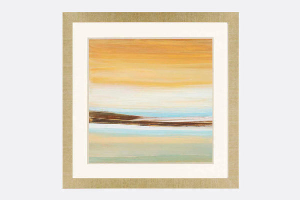 Grand View Dusk Framed Art