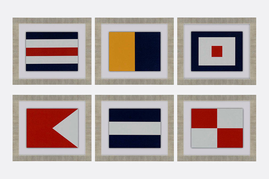 Signals Framed Art S/6