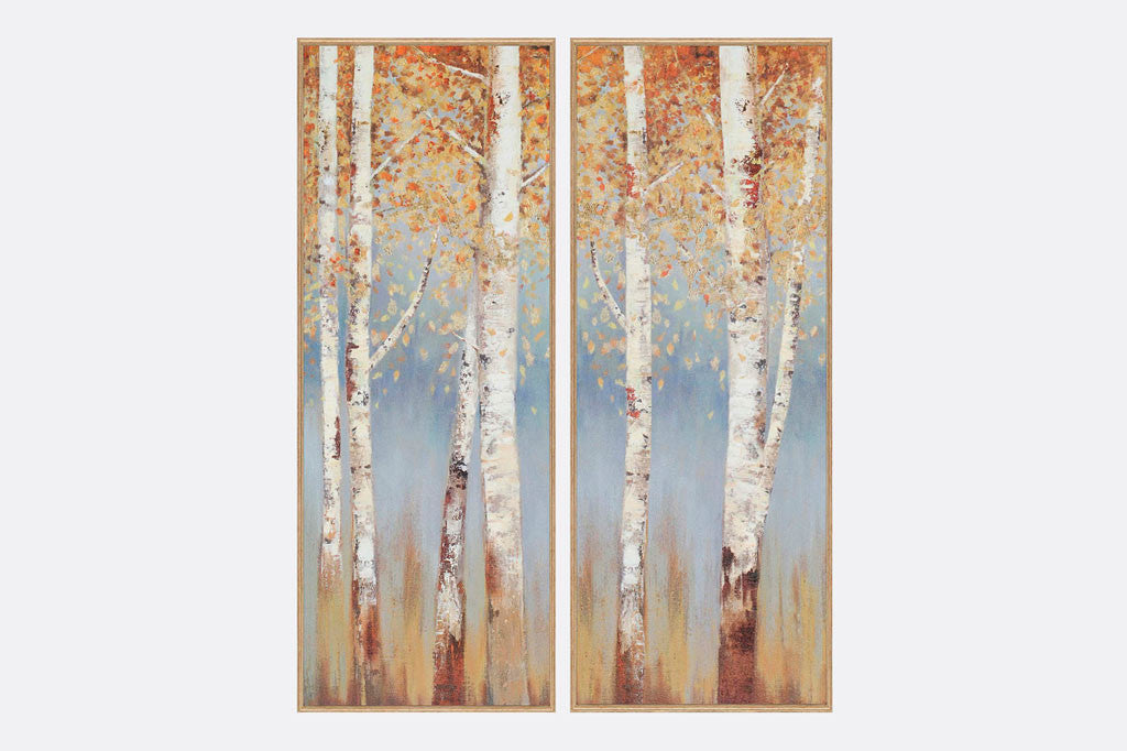 Birch Forest Framed Art S/2